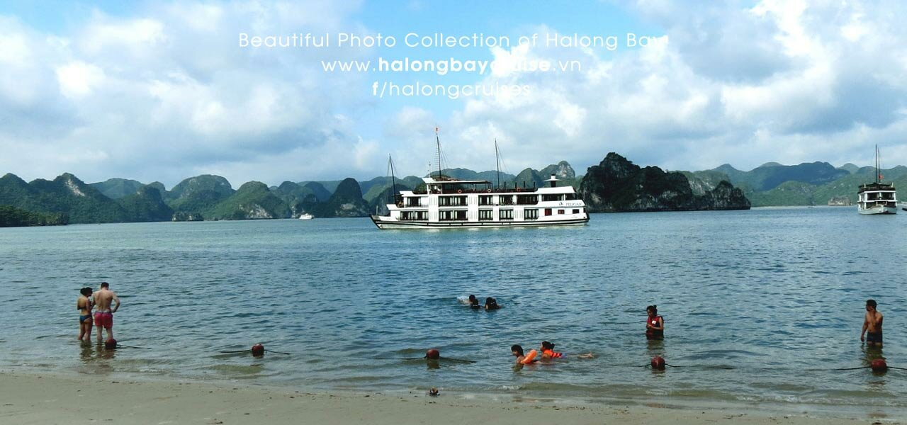 Halong Bay Beaches