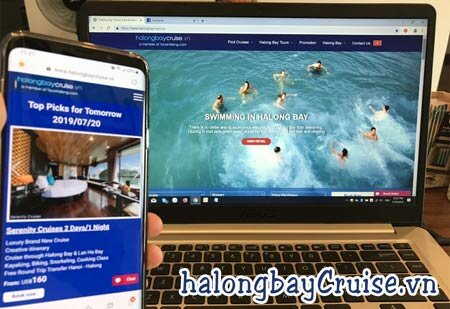Websites to Book Halong Bay Tours - With locals
