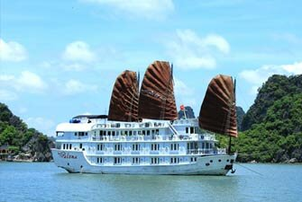 Paloma cruise Halong Bay 2 Days