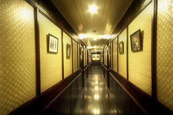 Corridor on Bhaya Cruises